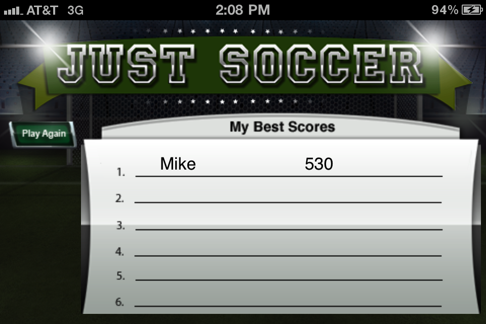 Screenshot Just Soccer