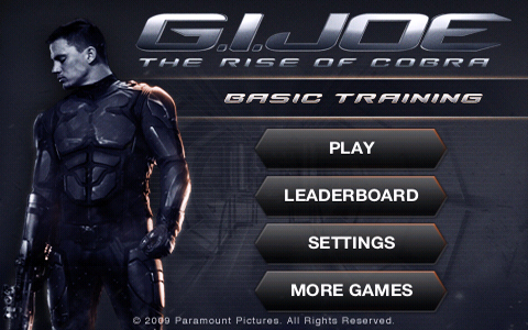 Screenshot G.I. JOE: THE RISE OF COBRA – BASIC TRAINING