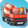 Fox and Sheep GmbH - Little Builders - Truck, Crane & Digger for Kids  artwork